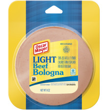 Oscar Mayer Light Beef Bologna, 8 oz