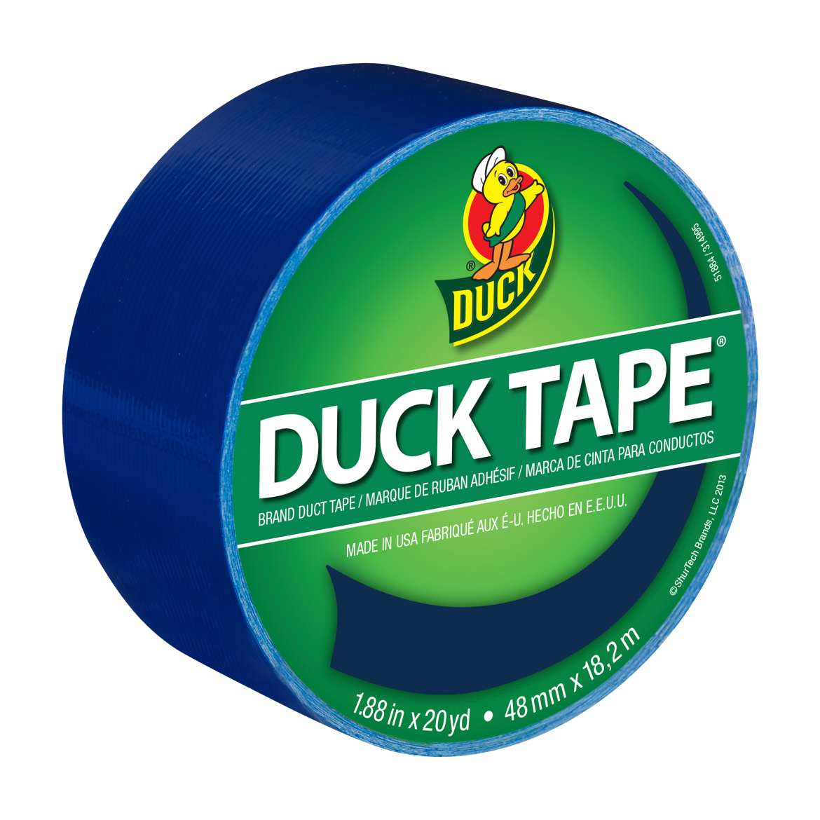 Color Duck Tape® Brand Duct Tape - Blue, 1.88 in. x 20 yd. Image