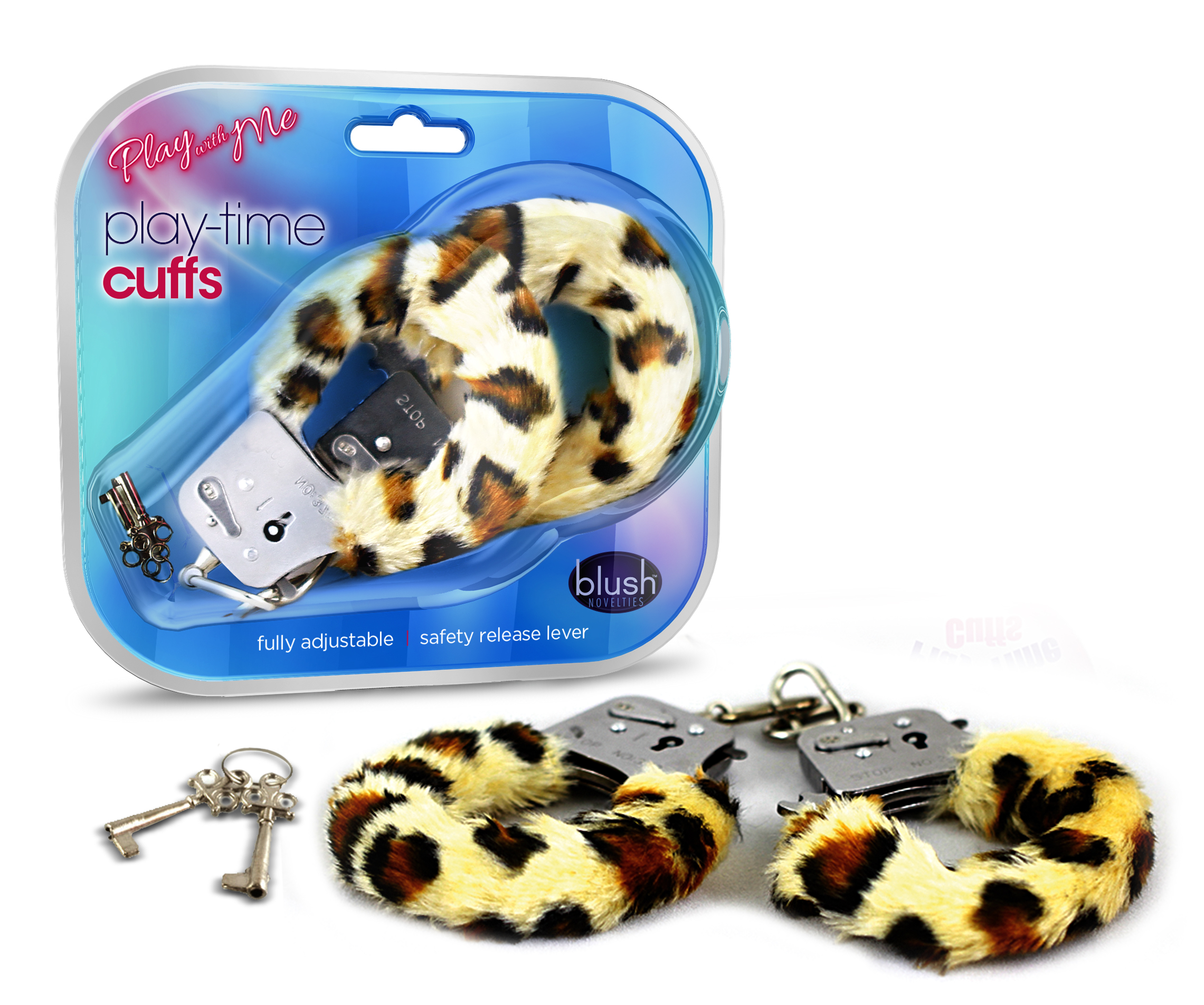 Play with Me - Play Time Cuffs - Leopard