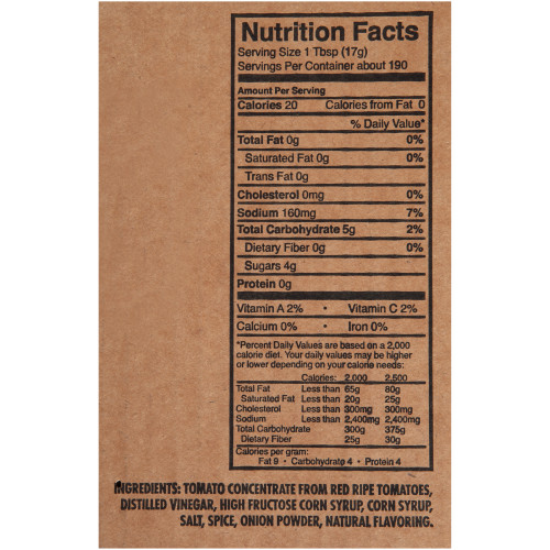HEINZ Ketchup, 114 oz. Pouches (Pack of 6)