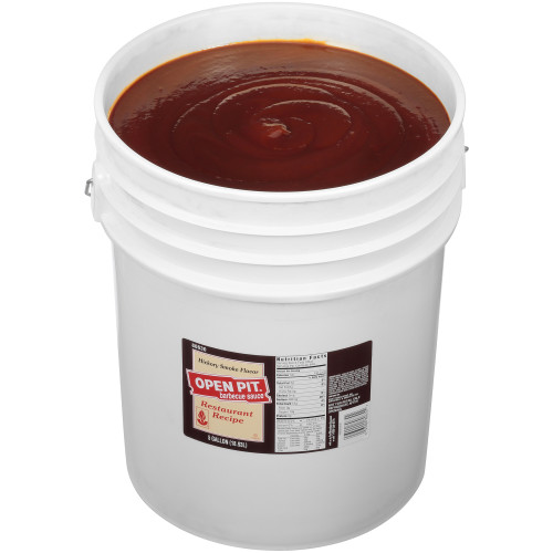 OPEN PIT Hickory BBQ Sauce, 5 gal. Pail