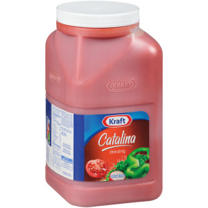 KRAFT Catalina Salad Dressing, 1 gal. Jugs (Pack of 4) image