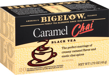 Caramel Chai Tea - Case 6 boxes- total of 120 teabags