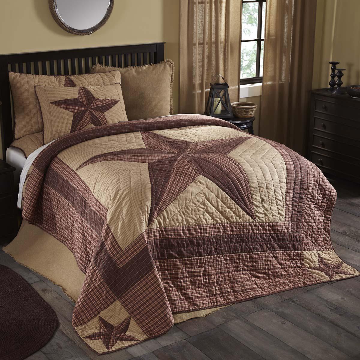 Landon Luxury King Quilt 120Wx105L