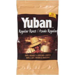 YUBAN Regular Roast & Ground Coffee, 1.1 oz. Pouches (Pack of 42) image