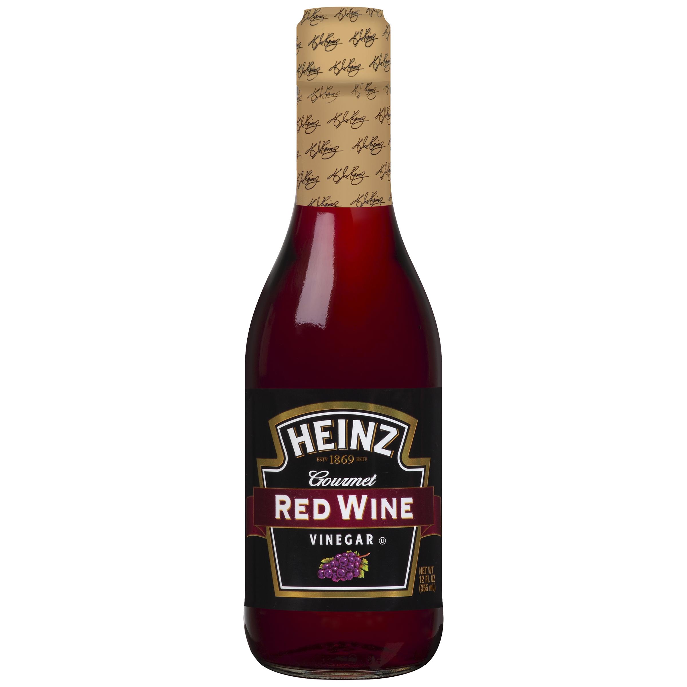 Heinz Gourmet Red Wine Vinegar 12 Fl Oz Bottle