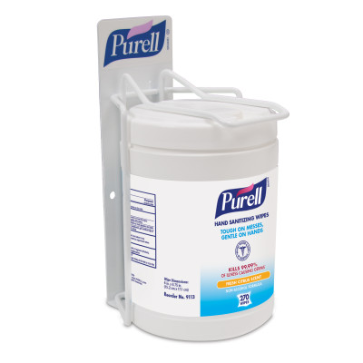PURELL® Hand Sanitizing Wipes Single Canister Bracket