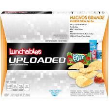 Lunchables Uploaded Nachos Grande Convenience Meals, 14.1 oz Box