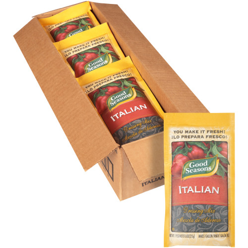 GOOD SEASONS Dry Italian Salad Dressing Mix, 7.6 oz. Packets (Pack of 12)