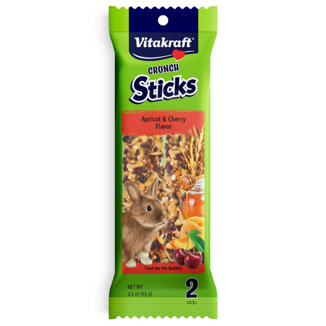 Product-Image showing Crunch Sticks Apricot & Cherry Flavor
