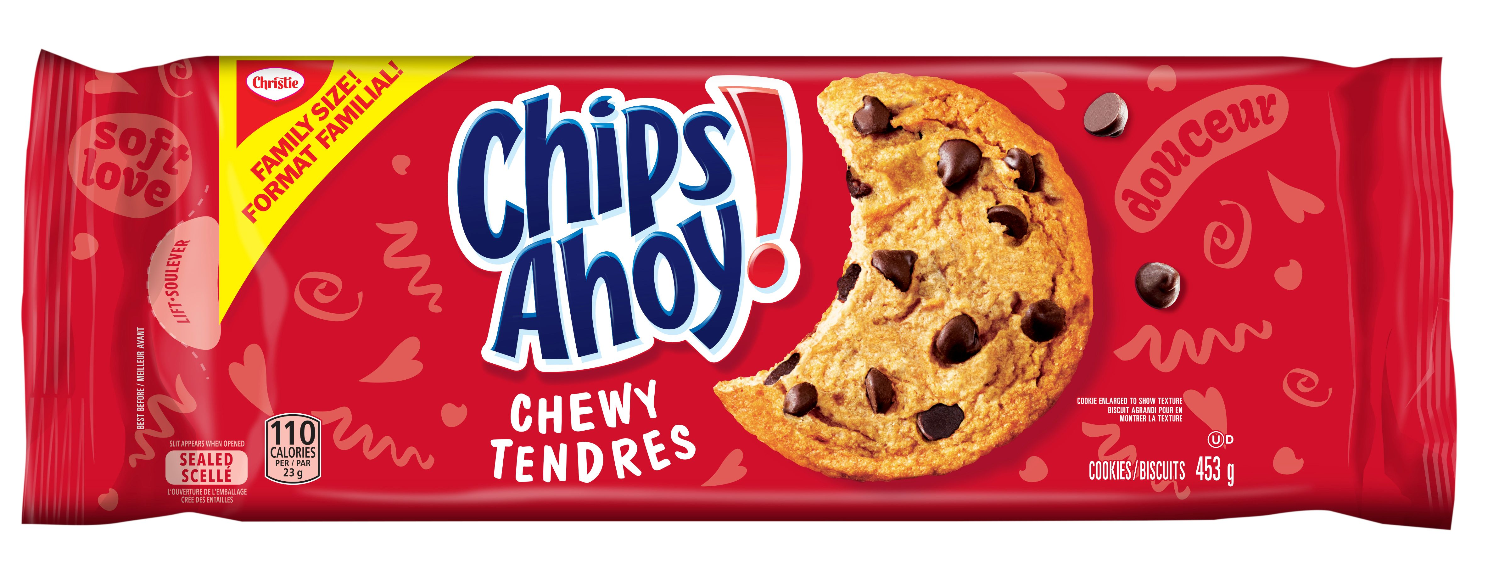 CHIPS AHOY!  TENDRES 453 GRM