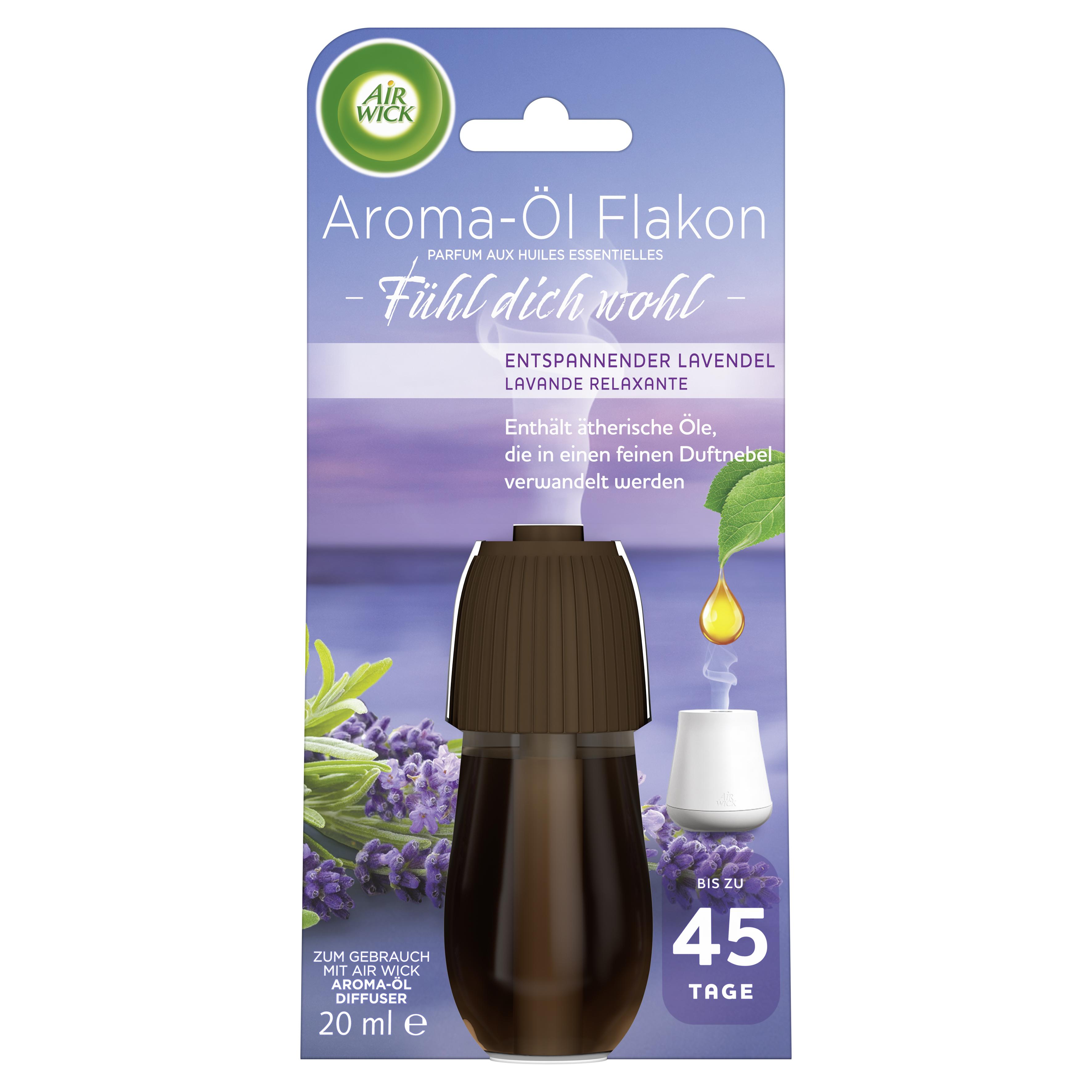 Air Wick Aroma-Öl Flakon Entspannender Lavendel