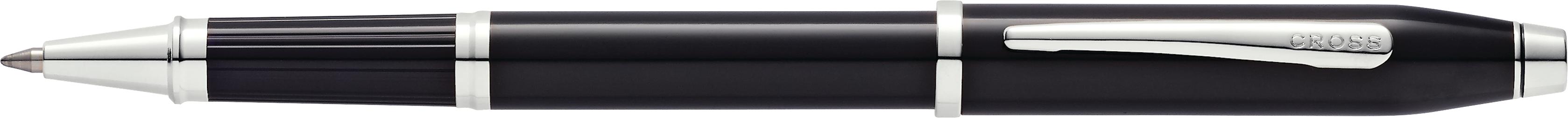 Century II Black Lacquer Rollerball Pen