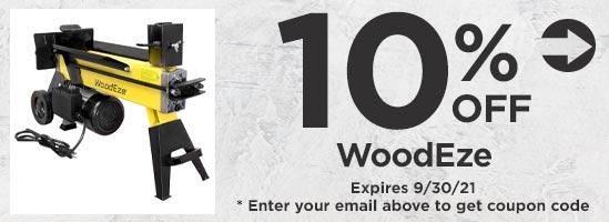 10% Off WoodEze