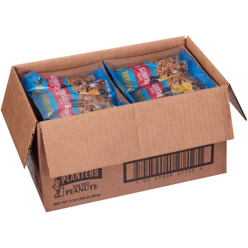 PLANTERS Salted Peanuts, 1.75 oz. Single Serve (Pack of 48)