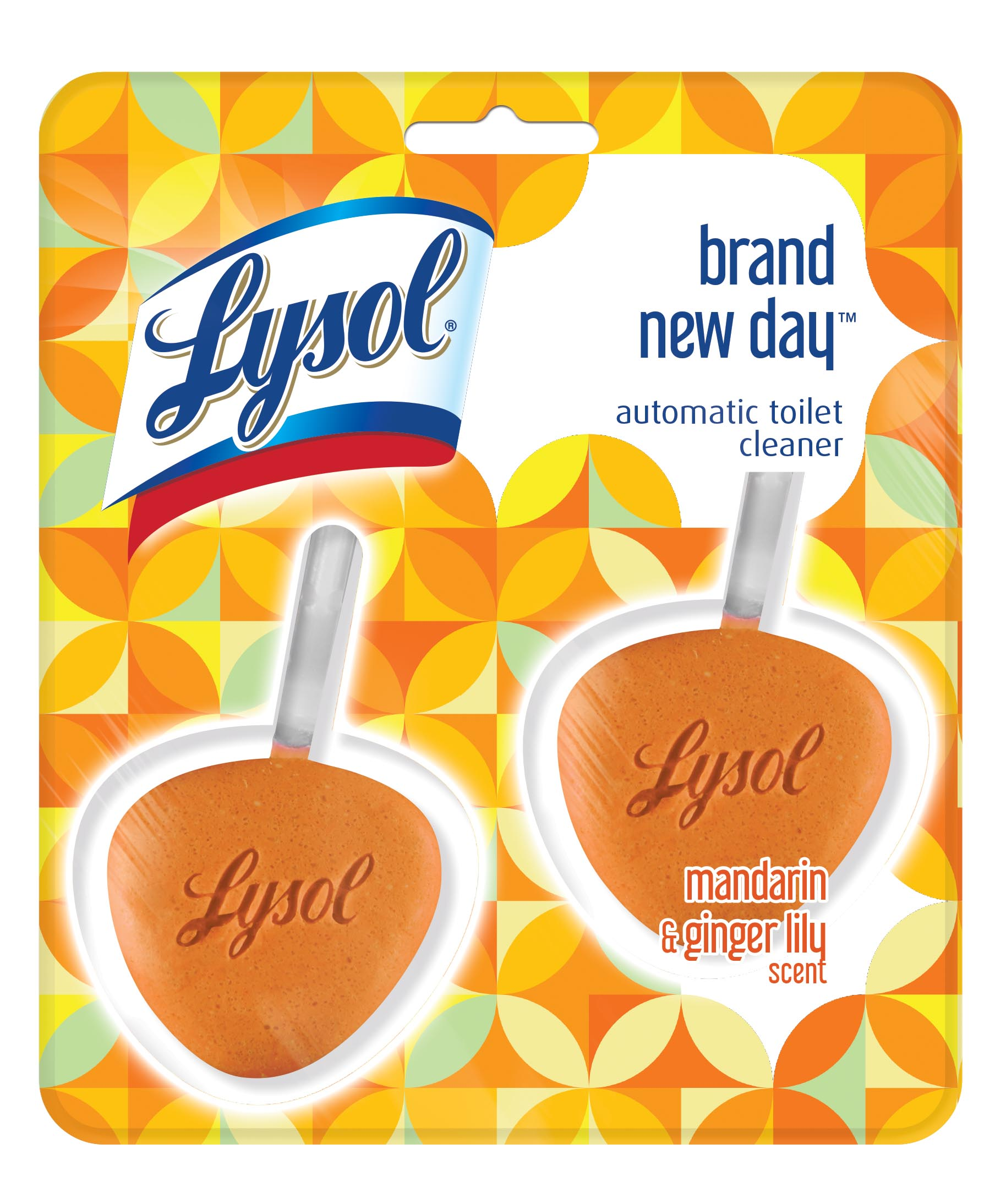 Lysol Brand New Day Automatic Toilet Bowl Cleaner, Mandarin & Ginger Lily