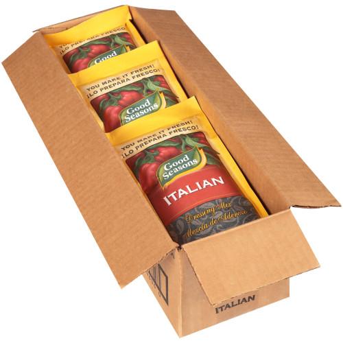 GOOD SEASONS Dry Italian Salad Dressing Mix, 7.6 oz. Packets (Pack of 12)