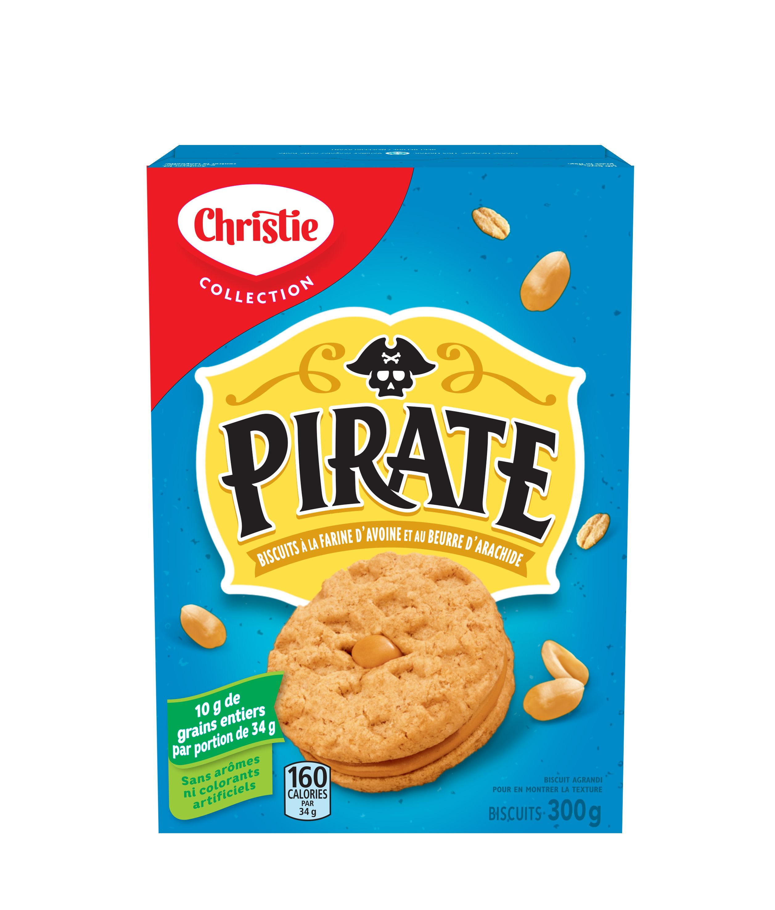 Pirate Oatmeal Cookies 300 G