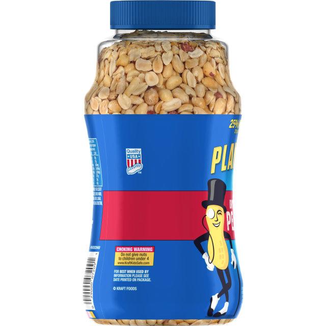 PLANTERS Dry Roasted Peanuts 25% More Free 20 oz Jar