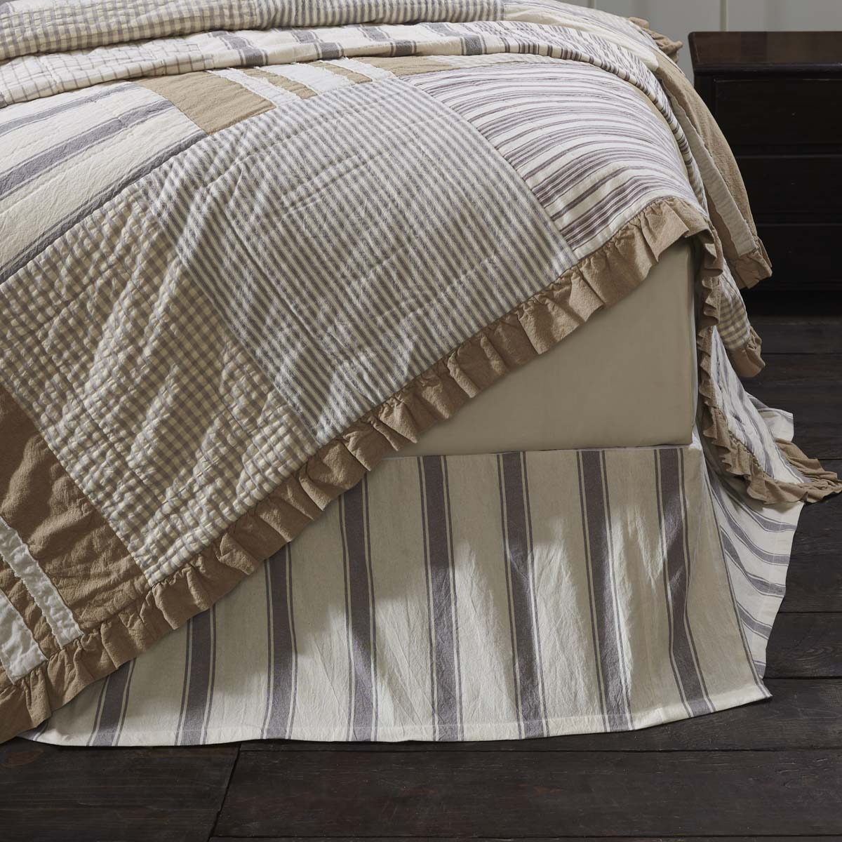 Grace Twin Bed Skirt 39x76x16