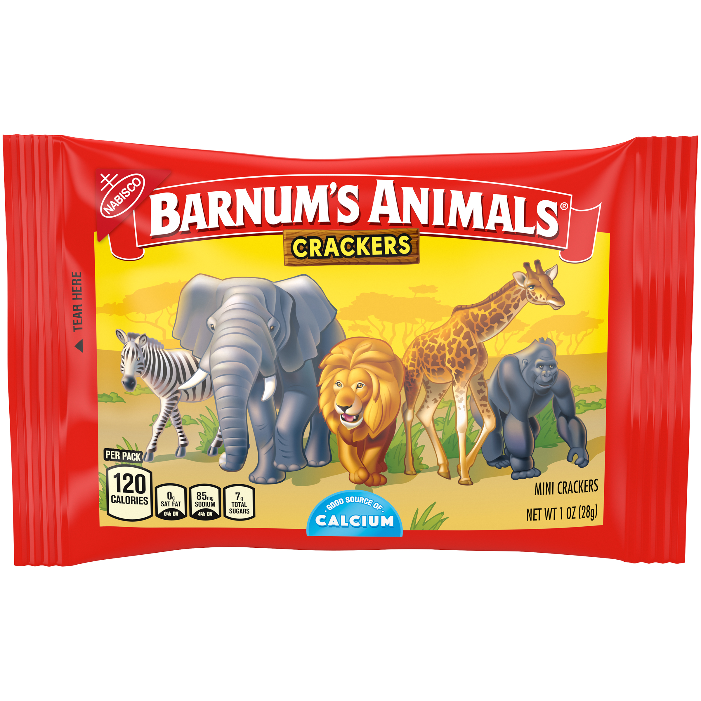 BARNUMS Zoo Animals Animal Crackers 1 oz