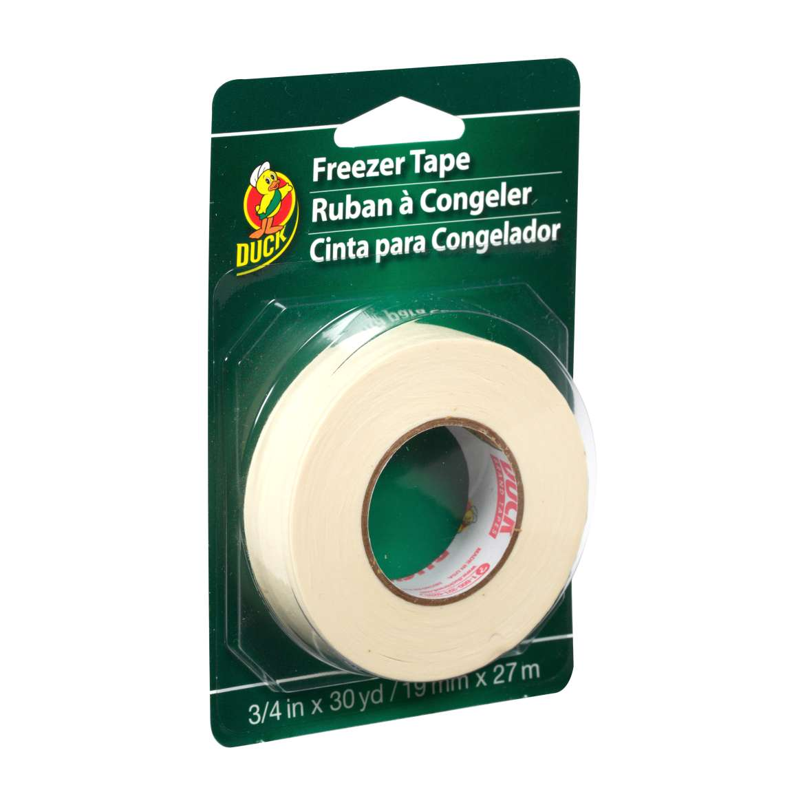 Duck® Brand Freezer Tape - White, .75 in. x 30 yd. Image