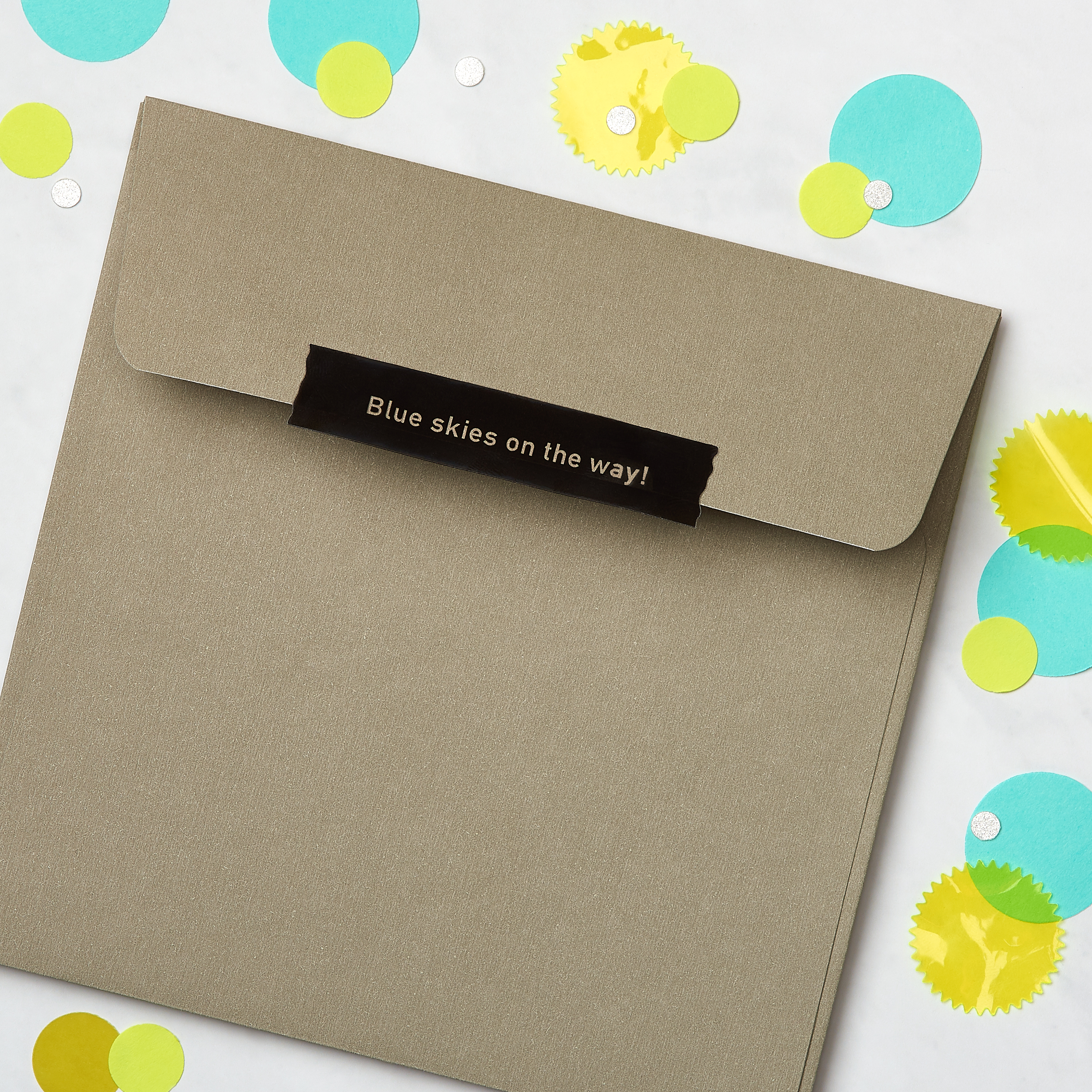 Rain Greeting Card - Support, Thinking of You, Encouragement image