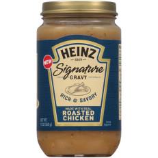 Heinz Signature Rich & Savory Roasted Chicken Gravy 12 oz Jar image