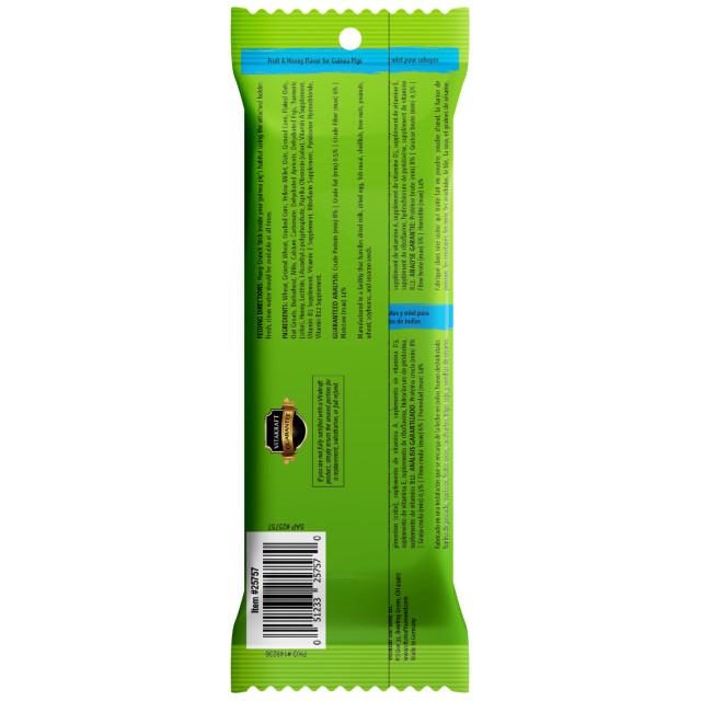 Back-Image showing Crunch Sticks Fruit & Honey Flavor