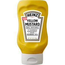 Heinz Yellow Mustard 8 oz Bottle image