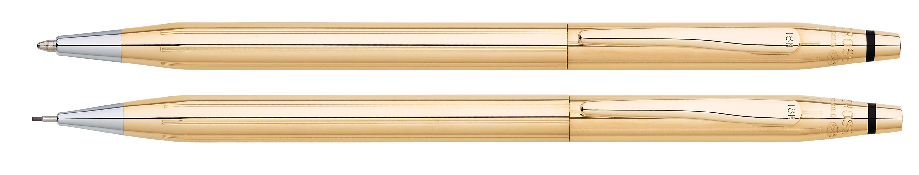 Classic Century 18KT Gold Pen and Pencil Set