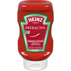 Heinz Sriracha Tomato Ketchup 14 oz. Bottle image
