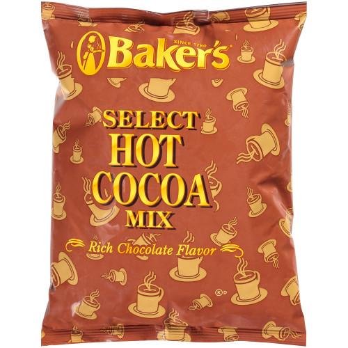 BAKER'S Bulk Select Hot Cocoa Mix, 2 lb. Bag (Pack of 12)