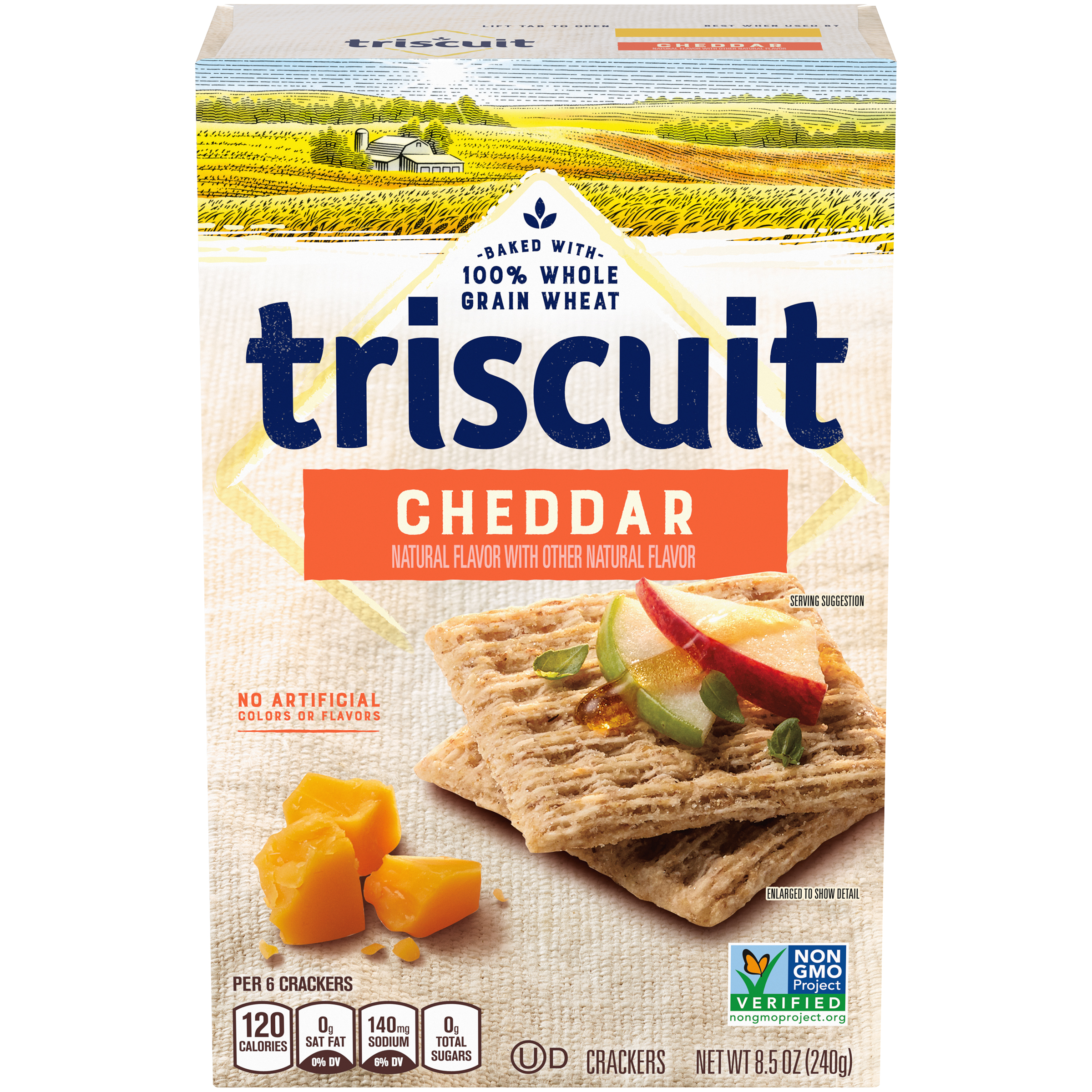 TRISCUIT Cheddar Crackers 8.5 oz