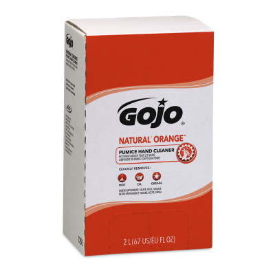 GOJO® NATURAL* ORANGE™ Pumice Hand Cleaner
