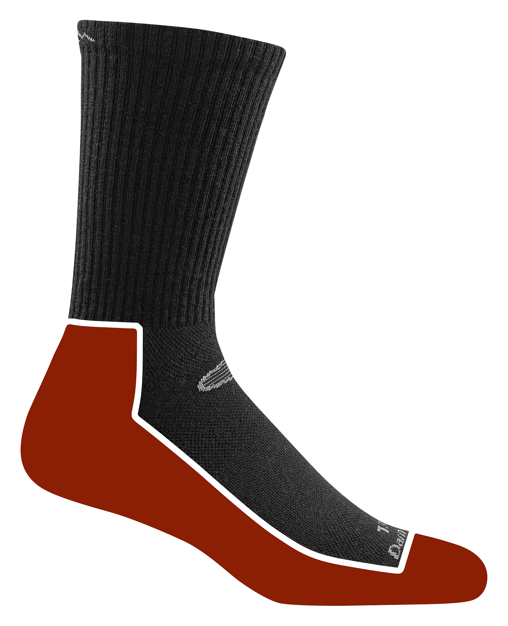 Cushion Location: The Tactical socks with cushion provide added comfort and rebound underfoot and around the ankle.. Cushion Weight: The go-to choice for hot, high-humidity environments on Tactical deployment, lightweight yarns are offer the lowest profile.