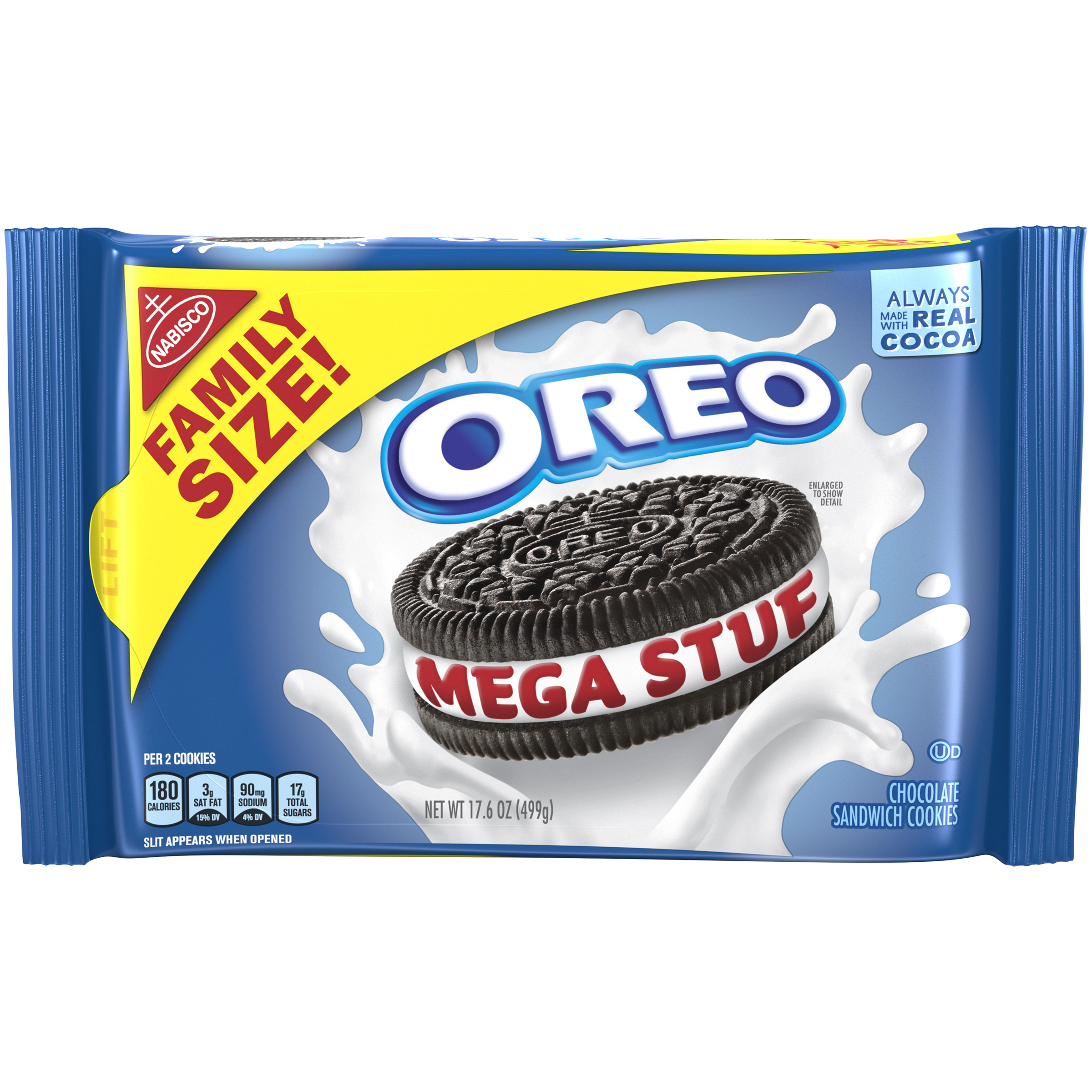 OREO Mega Stuff Sandwich Cookies 17.6 oz