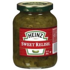 Heinz Sweet Relish 10 fl oz Jar image
