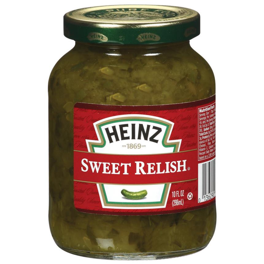 Heinz Sweet Relish 10 fl oz Jar
