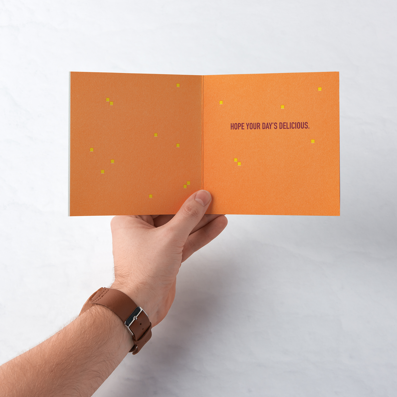 Hamburger Birthday Greeting Card  image