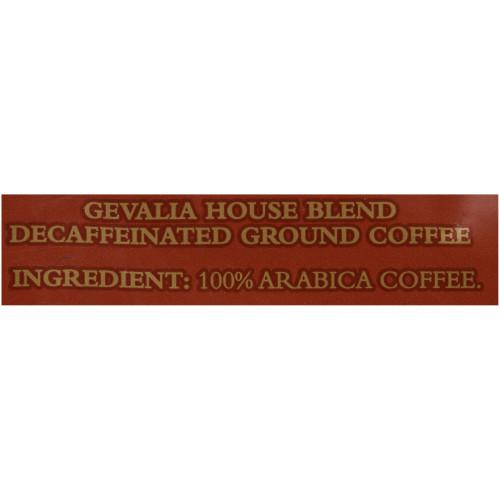 GEVALIA House Blend Decaf Coffee, 8 oz. Bag (Pack of 20)