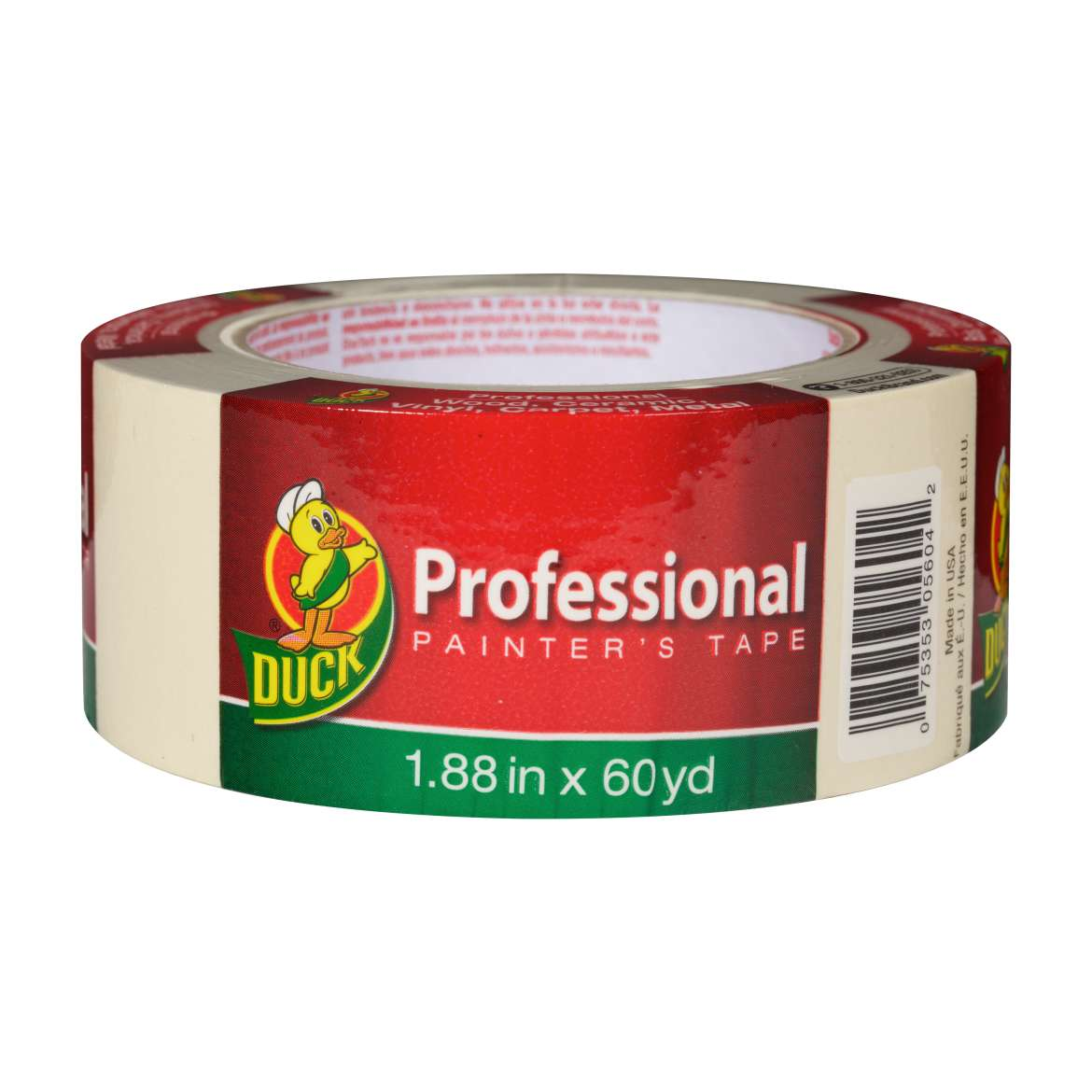 Duck® Brand Professional Painter's Tape - Beige, 1.88 in. x 60 yd. Image
