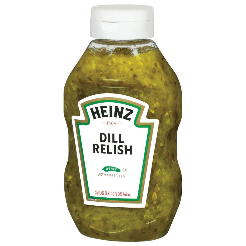 Heinz Dill Relish 26 fl oz Bottle