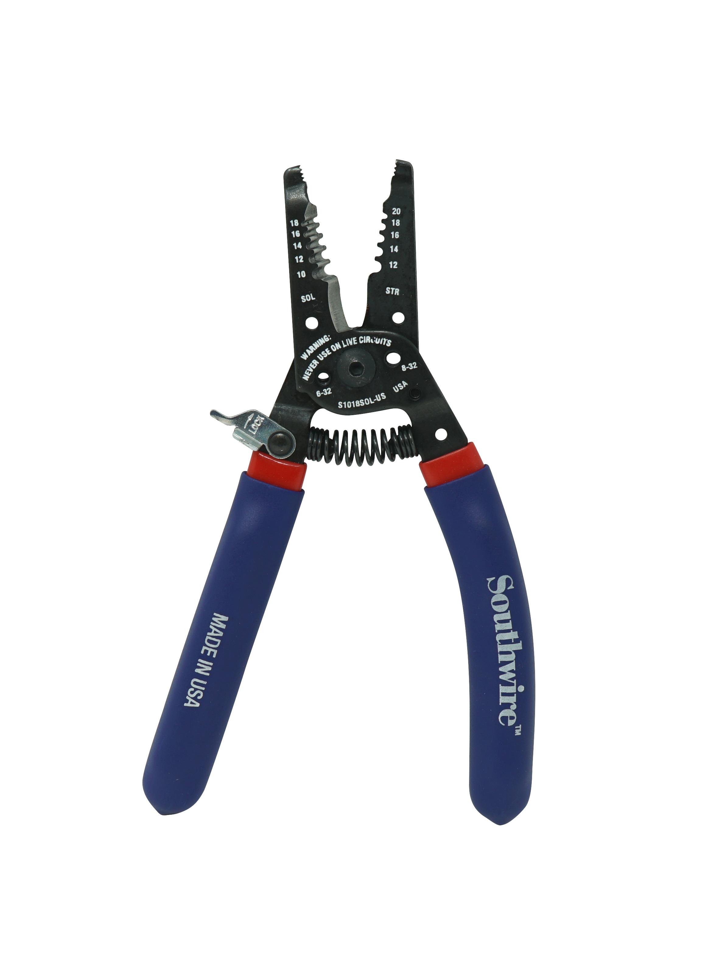 STR Ergo Handles Wire Stripper/Cutter