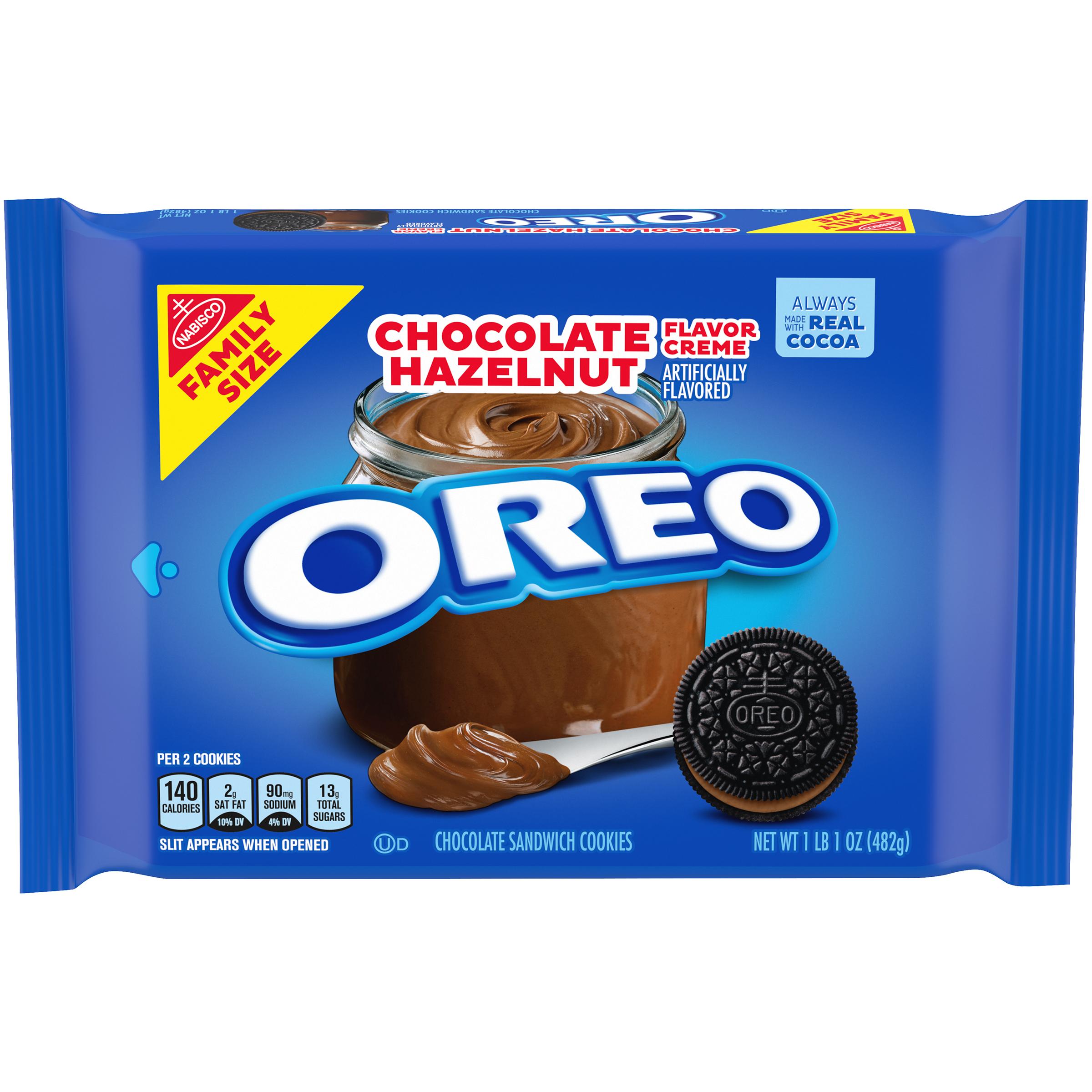 OREO Chocolate Hazelnut Sandwich Cookies 17.0 Oz