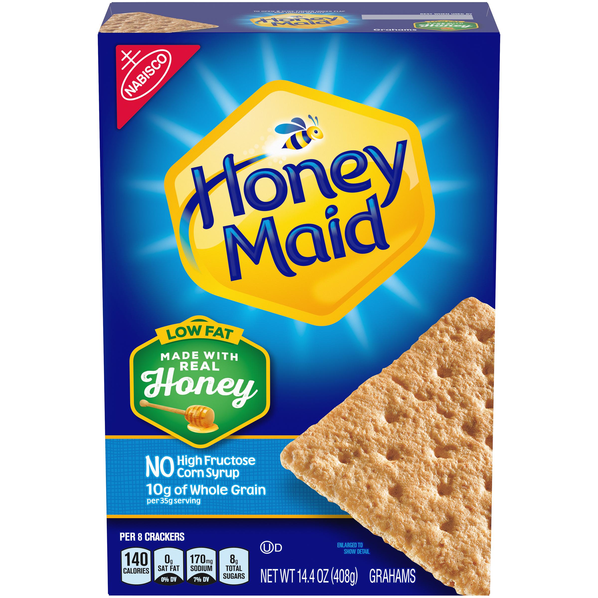 HONEY MAID Honey Low Fat Graham Crackers 14.4 oz