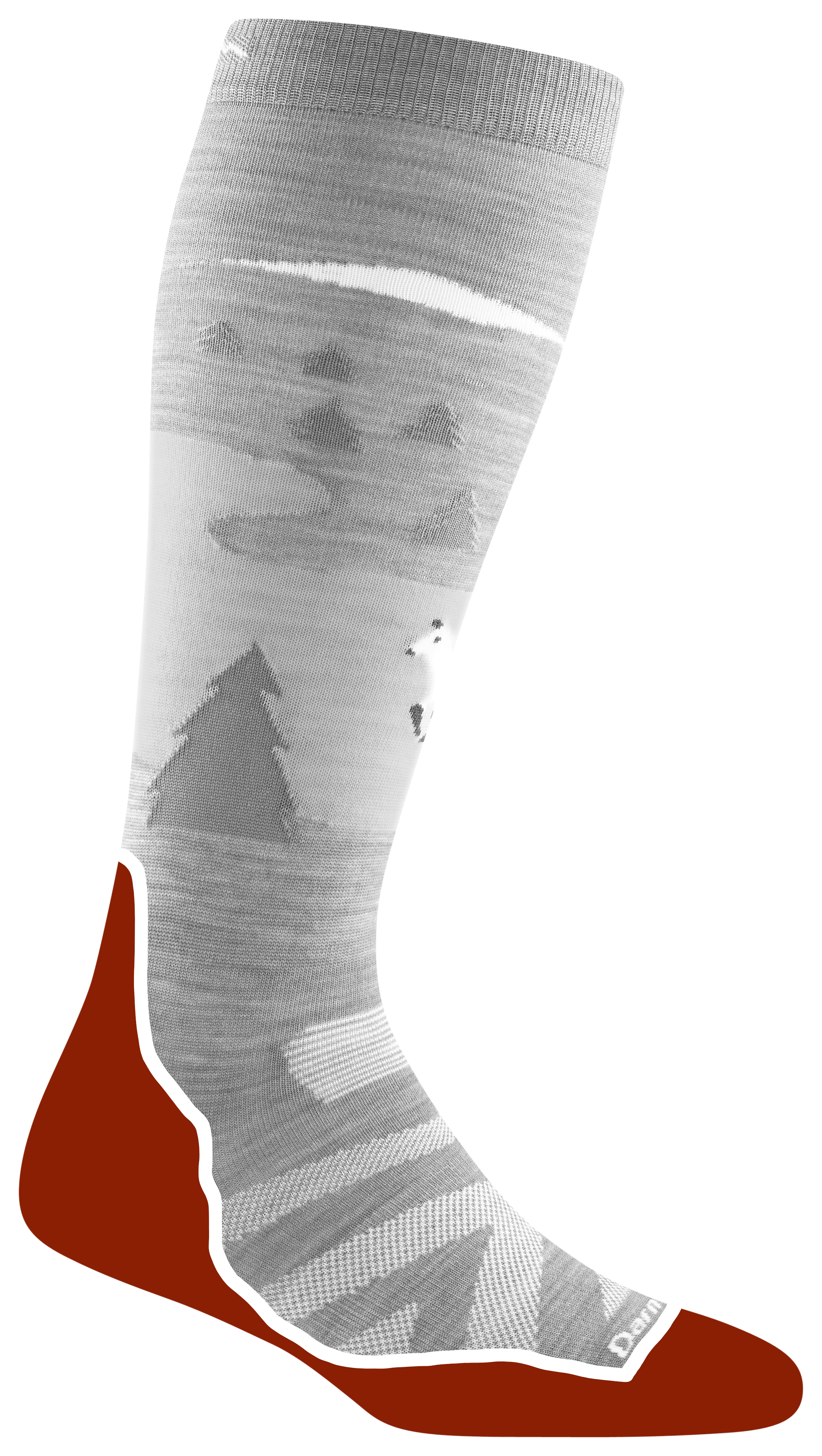 Cushion Location: The ski and snowboard socks with cushion feature terry loop comfort underfoot.. …