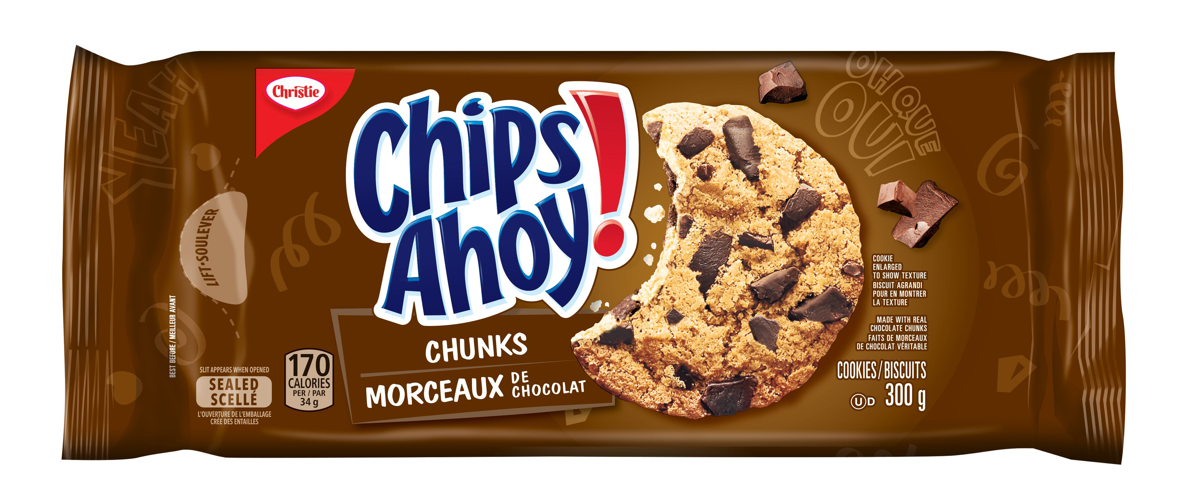 CHIPS AHOY!  CHUNKS 300 GRM