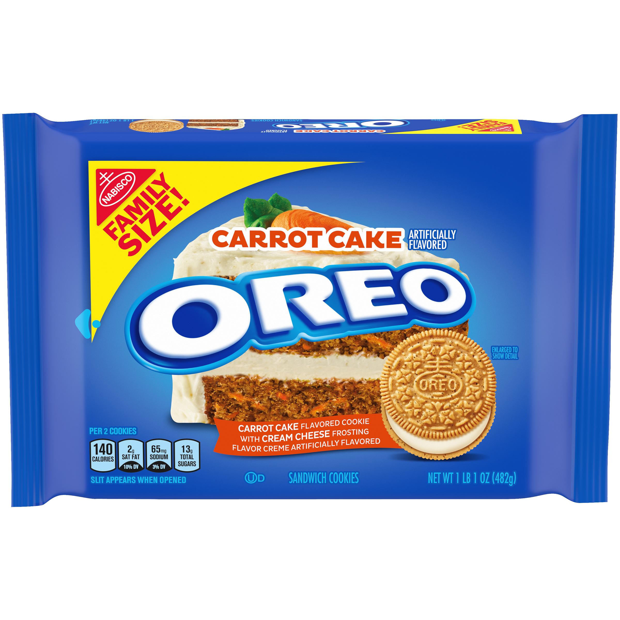 OREO Carrot Cake Sandwich Cookies 17 oz