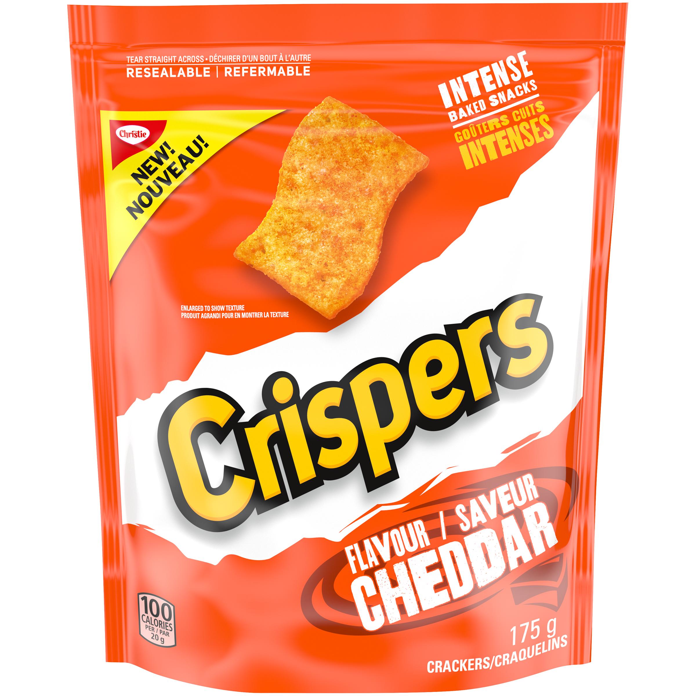 CRISPERS  CHEDDAR 175 GRM
